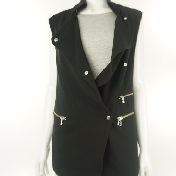 Aritzia Wilfred Black Vest